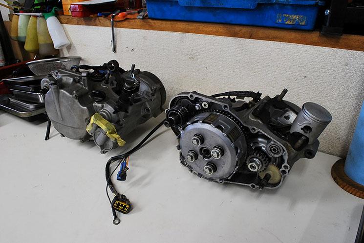 エンジンオーバーホールの例